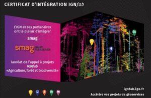 SMAG, lauréat du 5ème appel à projet IGNfab