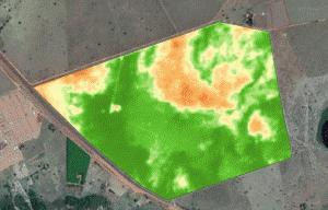 Exemple de détection des nuages (source Geosys)