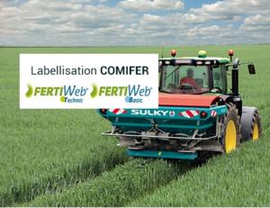 label COMIFER moteur FertiWeb