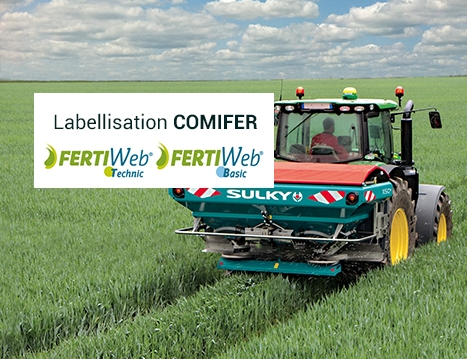 label COMIFER moteur FertiWeb
