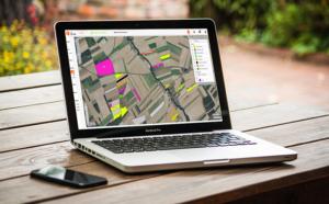 La cartographie des parcelles de notre logiciel de gestion