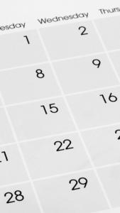 calendrier épandage