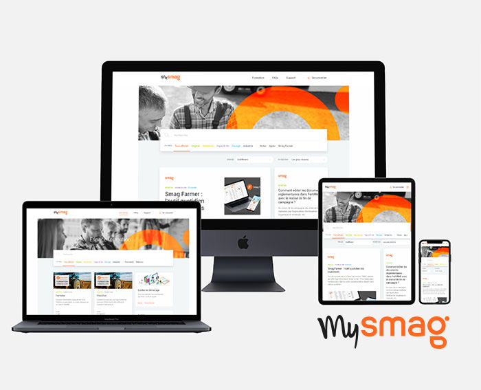 SMAG lance MySmag, nouveau site utilisateurs pour accompagner la pratique des solutions SMAG