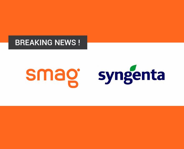 Syngenta et SMAG s'associent pour connecter leurs solutions respectives Avizio et Smag Farmer