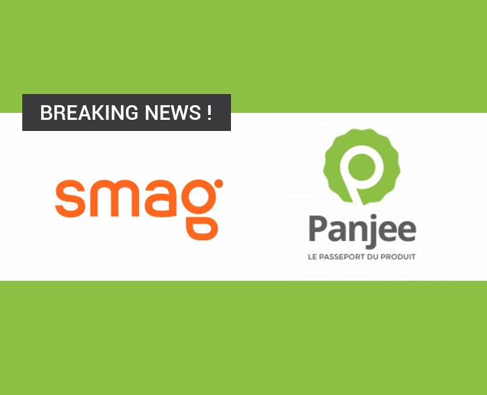 TRAÇABILITÉ ALIMENTAIRE, SMAG  et la startup PANJEE s'allient