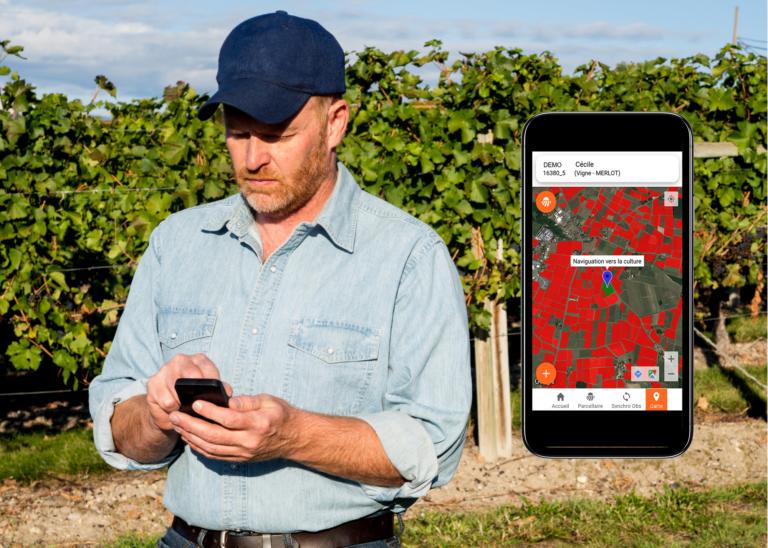 Une application mobile pour accompagner les salariés dans leurs interventions au vignoble