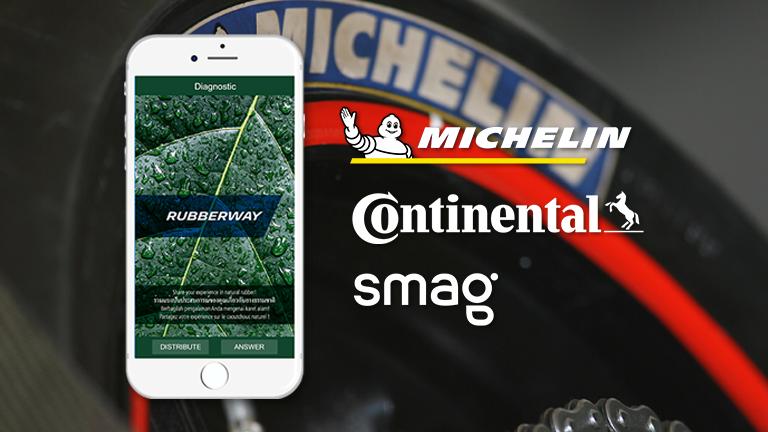 L'application RubberWay créée par SMAG, Michelin et Continental pourra désormais être utilisée par d'autres utilisateurs de caoutchouc